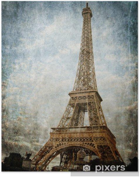 Plakat Paryż - Tematy