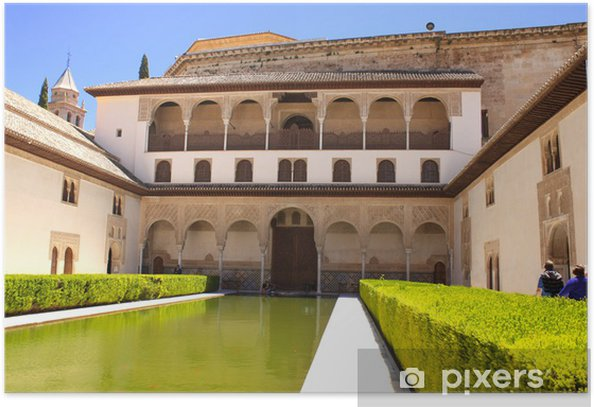 Plakát Patio v Alhambra - Evropa