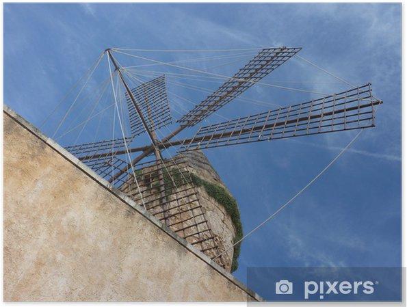 Plakat Perspektywa Mallorca Mill - Europa