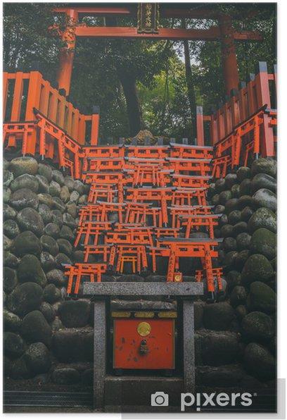 """Plakát Piccoli """"Torii"""" giapponesi - Veřejné budovy"""