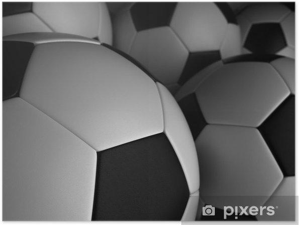 Plakat Piłka nożna - Tła