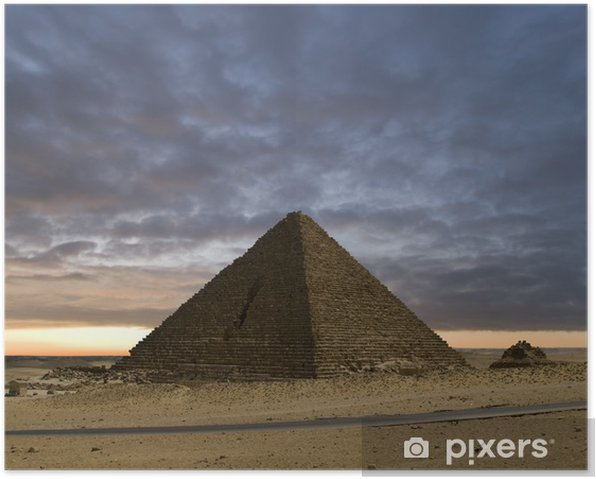 Plakat Piramidy nowy dzień - Niebo