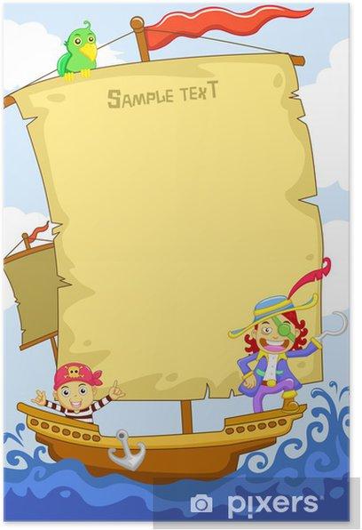 Plakat Pirat - Życie