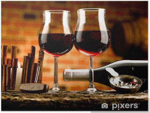 Plakat Piwnica na wino -