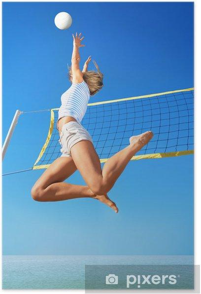 Plakát Plážový volejbal - Volejbal