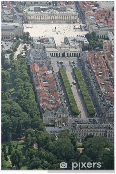 Plakat Place Stanislas - Square carièrre - Wakacje