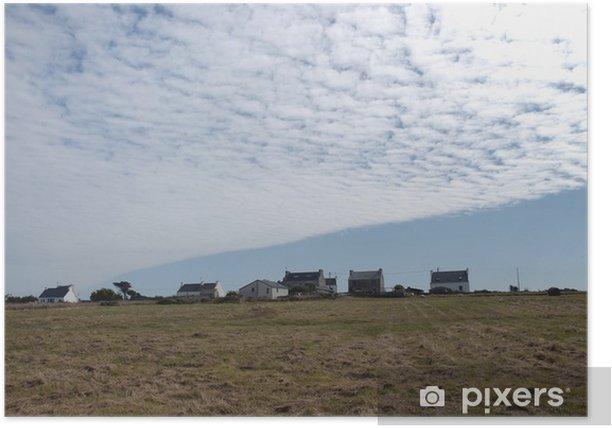 Plakát Plafond de nuages - Nebe