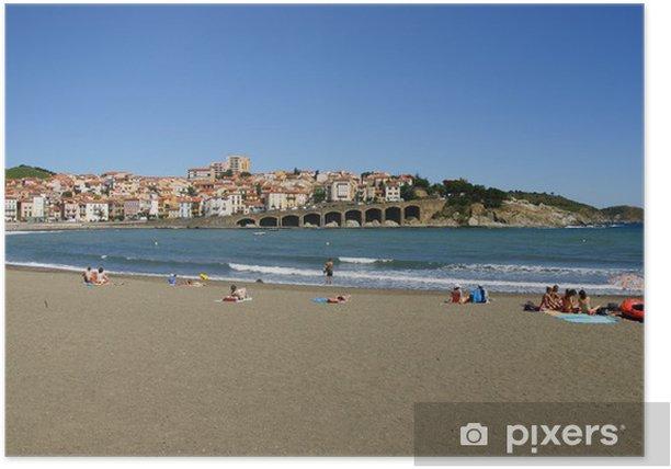 Plakát Plage de Banyuls-sur-Mer - Prázdniny