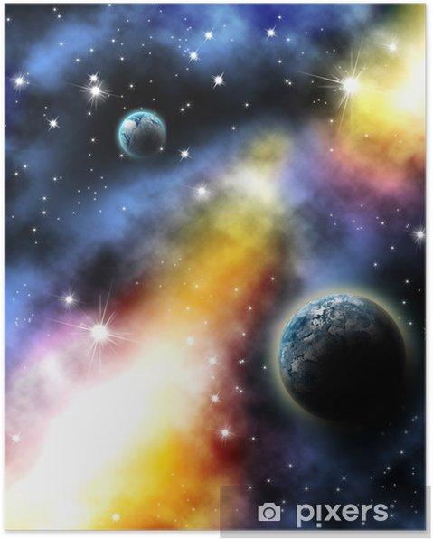 Plakat Planeta - Tematy