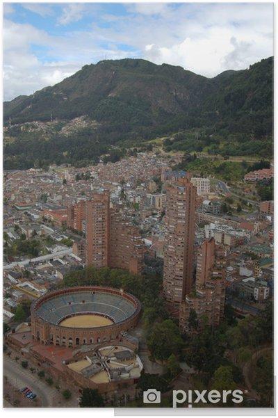 Plakát Plaza de Toros de Santamaria, Bogota - Kolumbie - Amerika
