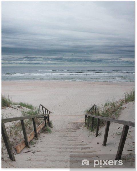 Plakat Plaża - Morze Bałtyckie - Morze i ocean
