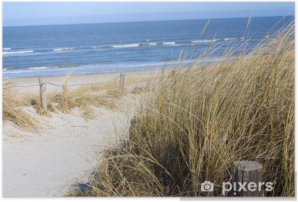 Plakat Plaża Morze Północne - Przeznaczenia