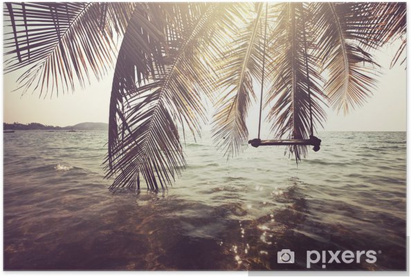 Plakat Plaża tropikalna - Tematy