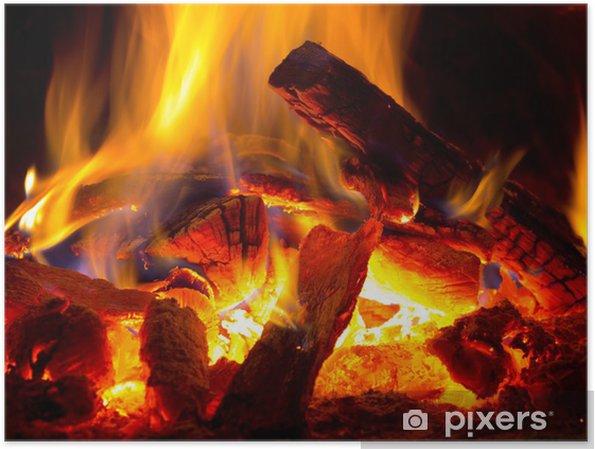 Plakat Płomień ognia - Tematy