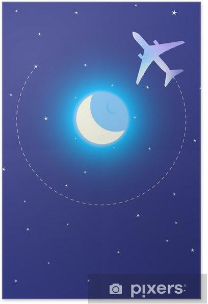 Plakát Podívejte se mi na měsíc - Vzduch