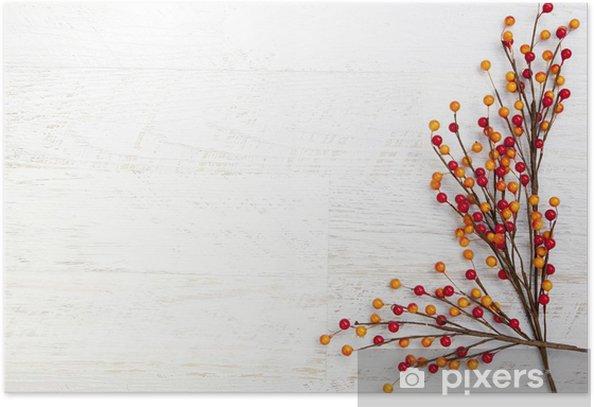 Plakát Podzim Díkůvzdání pozadí - Pozadí