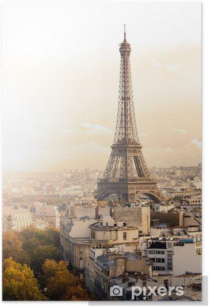 Plakát Podzim v Paříži - Témata