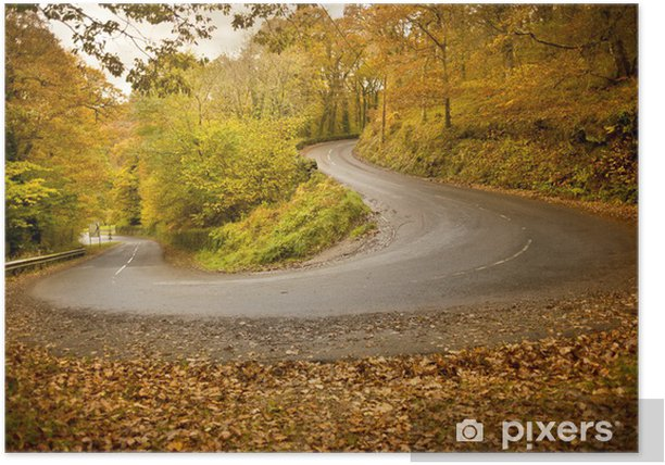 Plakát Podzimní silnice - Témata
