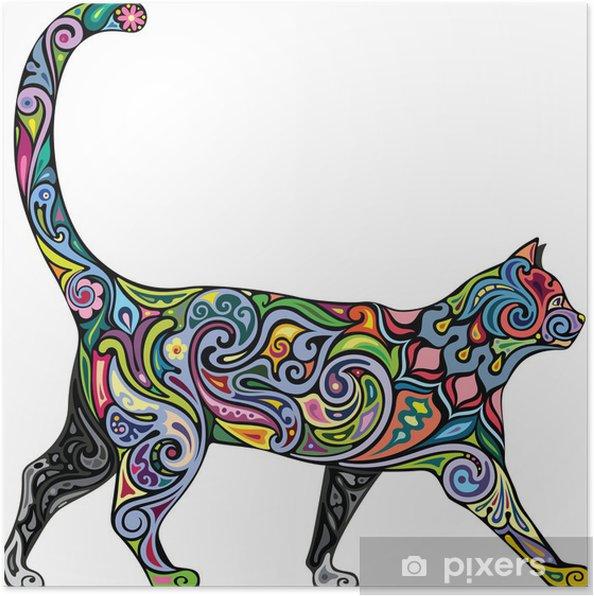 Plakat Pogodny kot - Ssaki