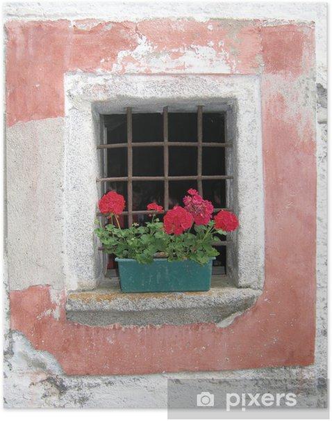 Plakát Pohled zamřížovaným oknem - Prázdniny