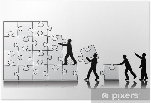 Plakat Pojęcie pracy zespołowej - Inne uczucia