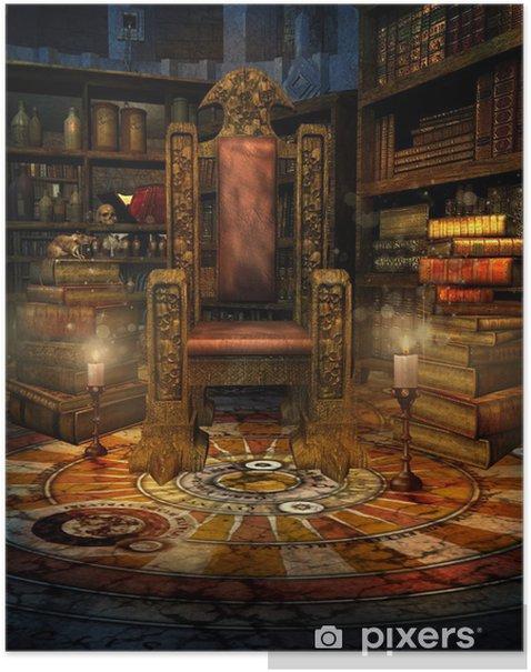 Plakat Pokój czarodzieja - Ezoteryka