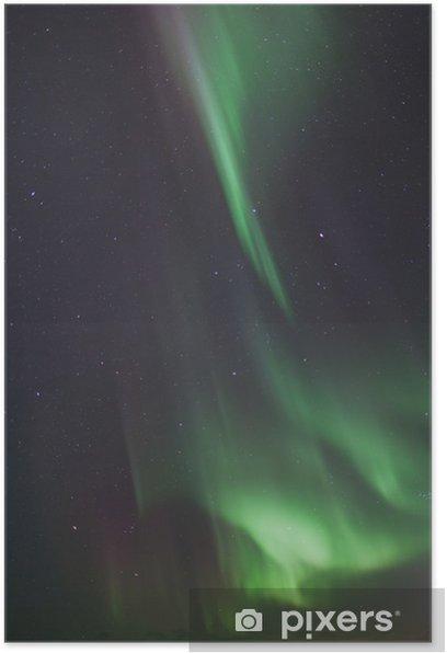 Plakát Polární záře - Přírodní krásy