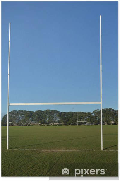 Plakat Pole rugby - Mecze i zawody
