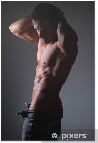 Plakát Polo nahý muž - Části těla
