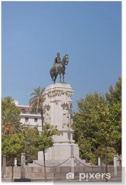 Plakat Pomnik króla św Ferdinand - Europa