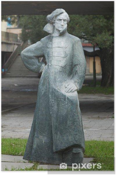 Plakat Pomnik Włodzimierza Antonow-Owsiejenko w St. Petersburg, Rosja - Europa