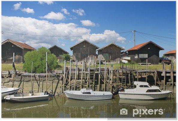 Plakát Port ostréicole et Cabanes de Pêcheurs - Outdoorové sporty