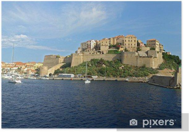 Plakat Portu Calvi Corse1 - Europa