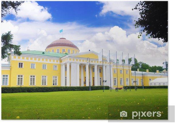 Plakat Potiomkin Pałac w St.Petersburg. Rosja - Azja
