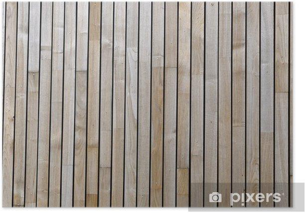 Plakat Powierzchni drewnianych - Przemysł ciężki