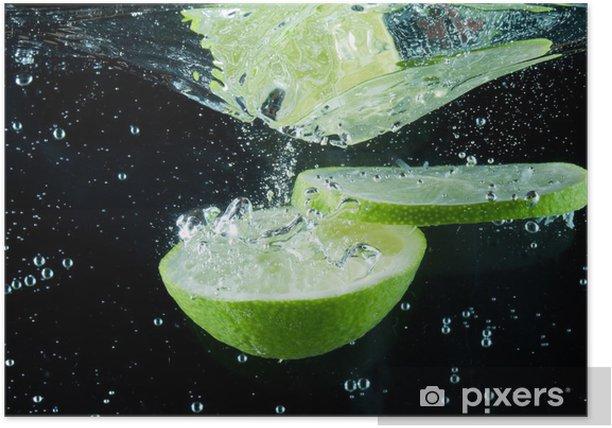 Plakat Powitalny owoców - Owoce