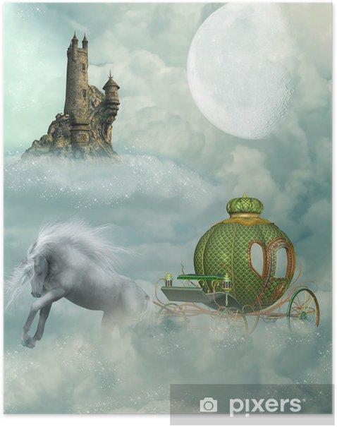 Plakat Powóz - Cuda natury