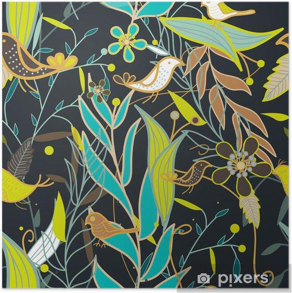 Plakat Powtarzalne tekstury - Tła