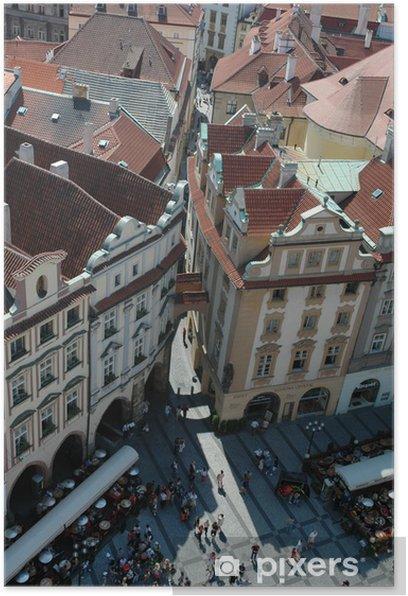 Plakat Praga - Miasta europejskie