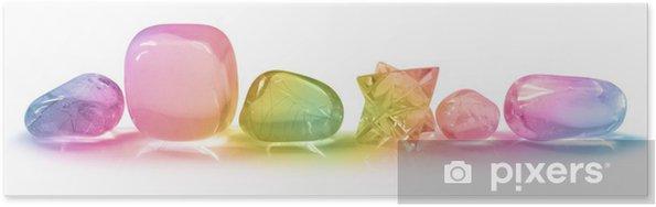 Plakát Pretty Duha krystaly - Zdraví a medicína