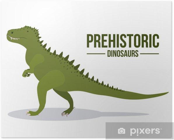 Plakat Projekt dinozaur - Inne przedmioty