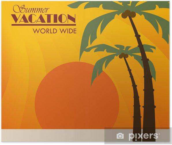 Plakat Projektowanie lato - Akcesoria