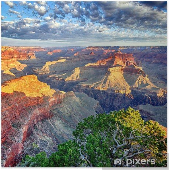 Plakat Promienie poranka w Wielkim Kanionie - Tematy
