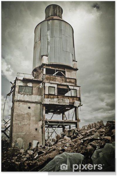 Plakát Průmyslový prostor - Těžký průmysl
