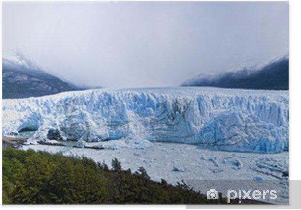 Plakat Przegląd lodowca Perito Moreno - Ameryka