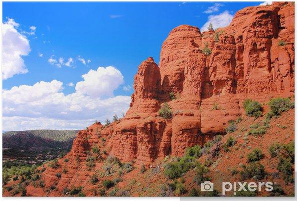 Plakat Przejażdżki czerwone skały w Sedona, Arizona, USA - Tematy