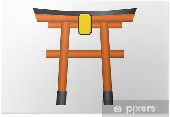 Plakat Przybytek torii - Budynki użyteczności publicznej