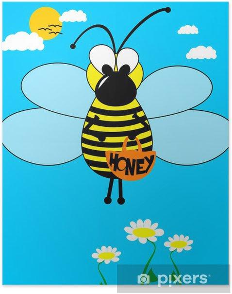 Plakat Pszczoła miodna - Inne Inne