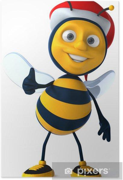 Plakat Pszczoła zabawy - Znaki i symbole