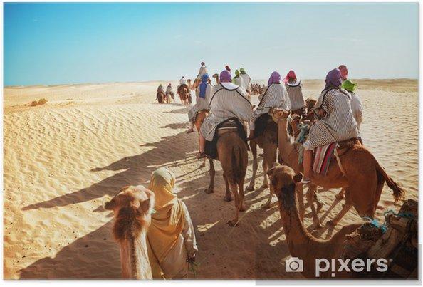 Plakat Pustynia Sahara - Afryka